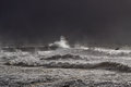 Dark Sea Storm Royalty Free Stock Image - 53610376