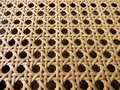 Open Weave Rattan Cane Royalty Free Stock Image - 53620646