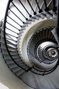 Architectural Pattern Of A Spiral Staircase Royalty Free Stock Image - 53635106