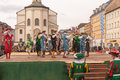 Traunstein/Germany/Bavaria, April 06th: Historical Sword Dance At The Georgirittes In Traunstein On The Easter Monday Stock Photography - 53652372