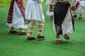 Bright Fragment Of Fast Romamian Folk Dance Royalty Free Stock Images - 53652779