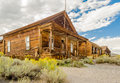 Abandoned House In The Gold Mining Ghost Town Of Bodie, Californ Royalty Free Stock Image - 53655796