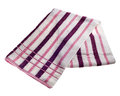Striped Beach Towel Stock Photography - 53679512