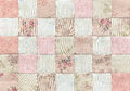 Patchwork Quilt , Basic Pattern Square Royalty Free Stock Photography - 53686067