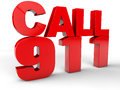 Call 911 Royalty Free Stock Photography - 53693307