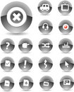 Web Icons Black Stock Images - 5375144