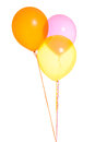 Three Balloons Together Stock Photo - 53726960