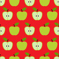 Seamless Colorful Retro Apple Pattern Stock Photography - 53740002