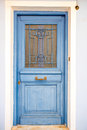 Old Coloful Door Royalty Free Stock Photo - 53772005