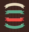 Vector Illustration Of Vintage Ribbons Royalty Free Stock Images - 53784259