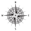 Detailed Compass Windrose Royalty Free Stock Photography - 53784337