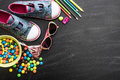 Kid S Stuff And Sweets Stock Photography - 53791322