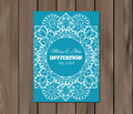 Wedding Invitation, Card Template Stock Photography - 53817632