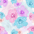 Floral Colorful Seamless Stock Photo - 53834730