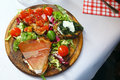 Simple And Appetizing Italian Food In Rome Stock Photo - 53846490