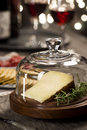 Manchego Cheese And Snacks At Holiday Party Royalty Free Stock Photo - 53880575