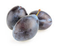 Plums Isolated Stock Image - 53882121