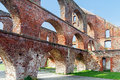 Red Brick Ruin With Arches Of A Monastery Building, Bad Doberan Stock Images - 53898604