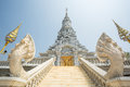 Oudong, Stupa That Contains Relics Of Buddha, Stairs To Golden D Stock Photography - 53914432
