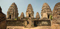 East Mebon Towers Panorama Royalty Free Stock Image - 53924696