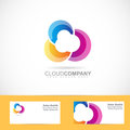 Colored Cloud Design Stock Photography - 53939282