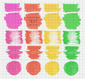 Transparent Highlighter Marks Royalty Free Stock Photography - 53953997