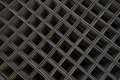 Steel Wire Fabric - Rod Mat - From Above Stock Images - 53992544