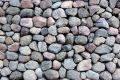 Round Rocks Stacked Outside Stock Image - 541411