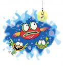 Three Fishes Stock Images - 542954