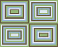Retro Symmetrical Squares Background Stock Images - 5403794
