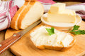 Butter And Bread Stock Photo - 54006690