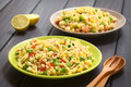 Couscous And Vegetable Salad Royalty Free Stock Images - 54010779