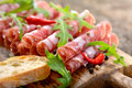 Salami Snack Royalty Free Stock Images - 54041149