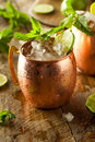 Icy Cold Moscow Mules Royalty Free Stock Photos - 54055098