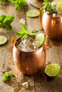 Icy Cold Moscow Mules Royalty Free Stock Photography - 54055157