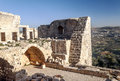 Ajloun Castle In Ruins Stock Photo - 54066210