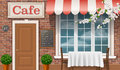 The Facade Of The Traditional Cafe. Royalty Free Stock Images - 54066589
