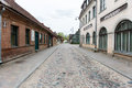 Historical Buildings In Old Town Of Kuldiga, Latvia Stock Photography - 54078062