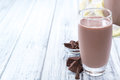 Cold Chocolate Milk Royalty Free Stock Image - 54090916