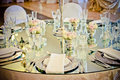 Mirror Wedding Table Royalty Free Stock Photography - 54096027