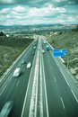 Highway To The City Royalty Free Stock Photos - 5412048