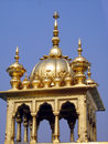Dome Of Golden Temple In India Royalty Free Stock Photography - 5419927