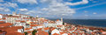 Panoramic View Of Lisbon Rooftop From Portas Do Sol Viewpoint - Stock Images - 54107114