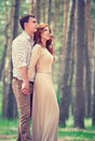Dreamy Couple In The Park Royalty Free Stock Photos - 54120538