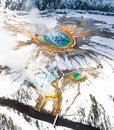 Grand Prismatic Winter Royalty Free Stock Image - 54122336