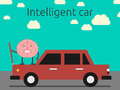 Intelligent Car Concept Stock Photography - 54132302