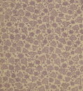 Scan The Flyleaf Of An Old Book, Yellow-gray-brown, With Dense And Intricate Floral Pattern. Royalty Free Stock Images - 54211589