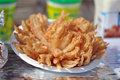 Fried Onion Blossom Stock Images - 54217454