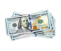 Stack Of 100 Dollar Bills Royalty Free Stock Images - 54221459