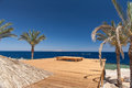 Beach At The Luxury Hotel, Sharm El Sheikh, Egypt Stock Image - 54238421